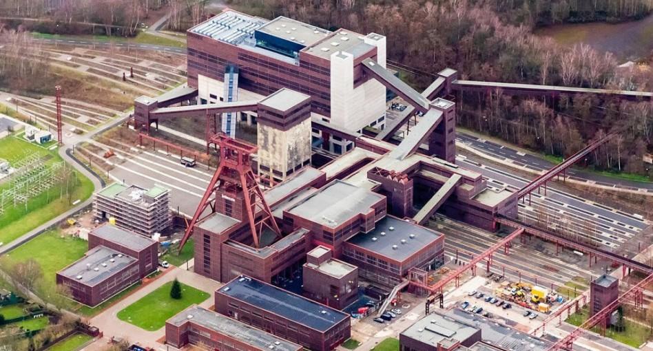Voormalige Duitse kolenmijn omgetoverd tot Technoclub