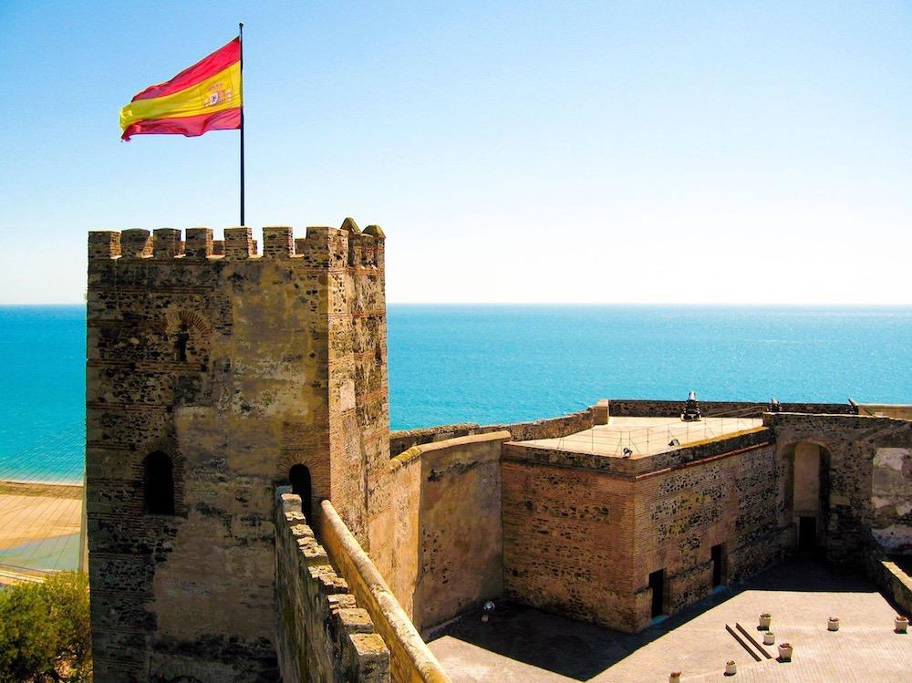Techno feest in historisch Spaans kasteel