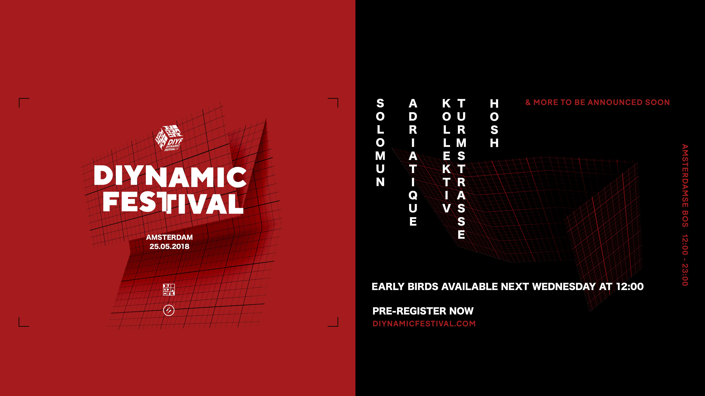 6e editie van Diynamic Festival is om de hoek!
