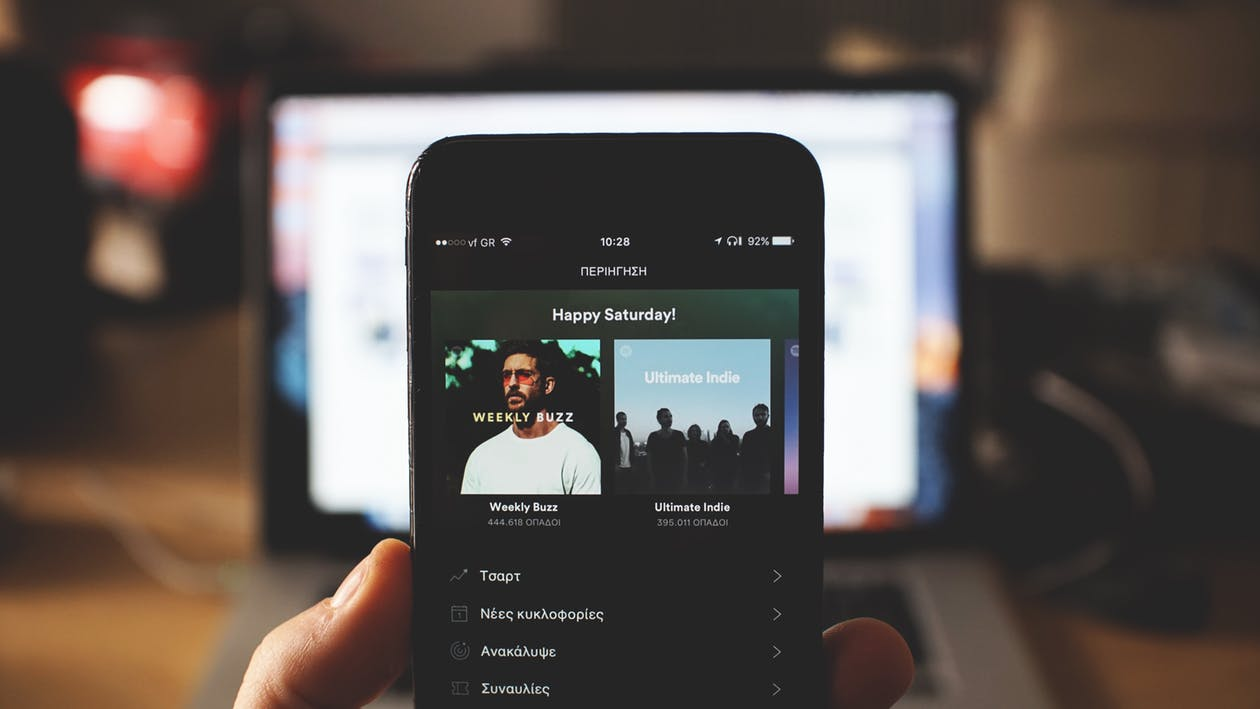 Spotify groeit dubbel zo hard als Apple Music